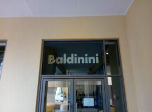 Интерьерная вывеска Baldinini