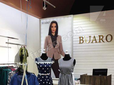 Интерьерная вывеска магазин одежды