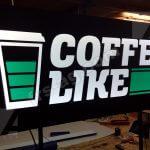 Вывеска coffee like